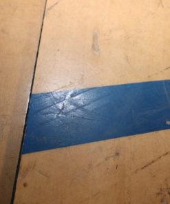 Bøge parket gulv fra gymnastiksal