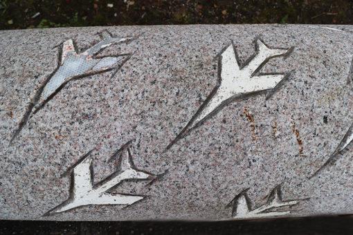 Granitsøjle ø40-50 x 265cm
