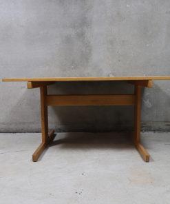 shaker bord, egetræsbord, finérbord, dansk design