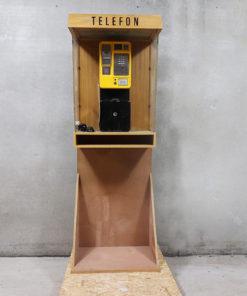 Mønttelefon, telefonboks, vægtelefon, fastnettelefon