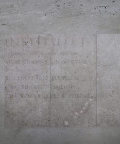 Sandsten fra Rockefeller instituttet. 2 stk er 55 x 126 cm, 1 stk 48 x 126 cm og 2 stk 55 x 109 cm. Alle er ca. 23 mm tykke. 2 af stenene er knækket, se billede.