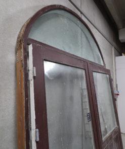 Dobbelt dør med buet overparti 194 x 278 cm