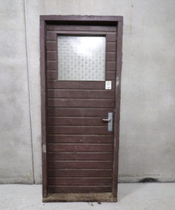 Gammel facadedør 93x222cm