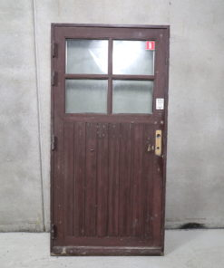 Gammel facadedør 107,5x216cm