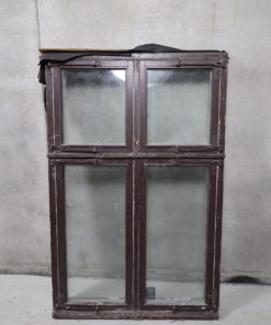 Gammelt dannebrog vindue 124x190cm