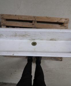 Gammel skolevask / håndvask 150cm bred.