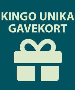 Kingo Unika gavekort